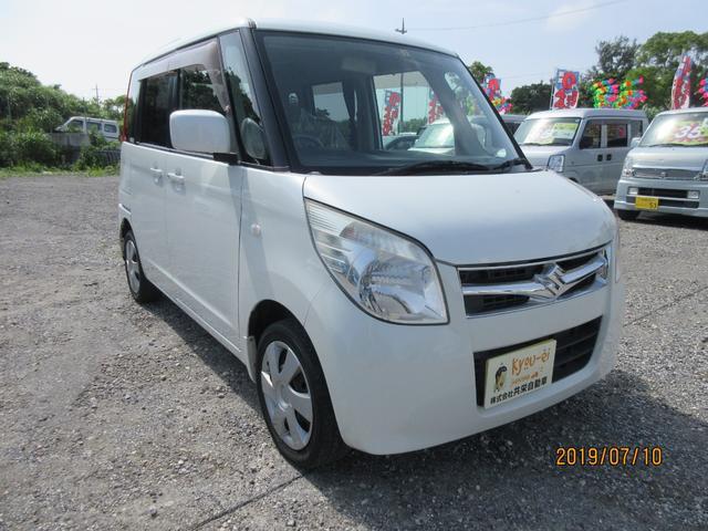 沖縄の中古車 スズキ パレット 車両価格 35万円 リ済込 2010(平成22)年 11.2万km パールホワイト