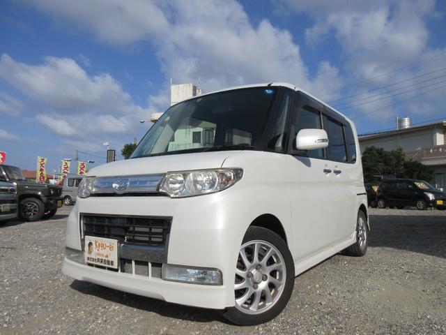 沖縄の中古車 ダイハツ タント 車両価格 34万円 リ済込 2009(平成21)年 11.8万km パールホワイト