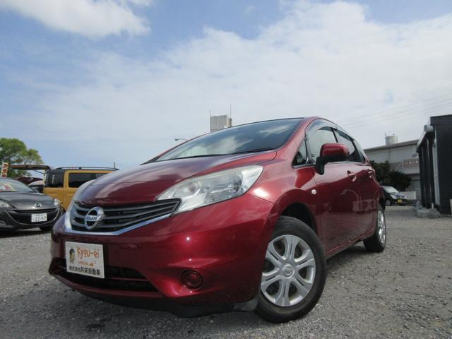 沖縄の中古車 日産 ノート 車両価格 46万円 リ済込 2012(平成24)年 5.8万km レッド