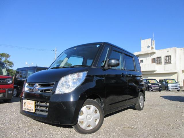 沖縄の中古車 スズキ パレットSW 車両価格 43万円 リ済込 2011(平成23)年 5.3万km ブラック