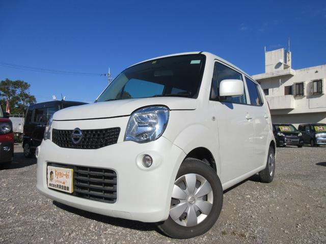 沖縄の中古車 日産 モコ 車両価格 19万円 リ済込 2012(平成24)年 15.4万km ホワイト