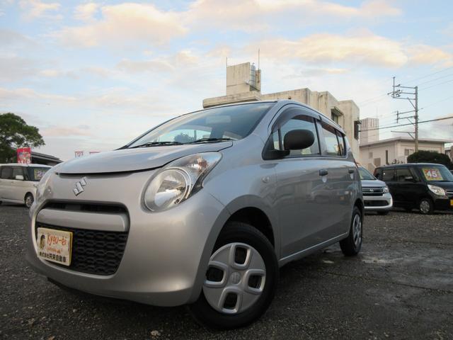 沖縄の中古車 スズキ アルト 車両価格 19万円 リ済込 2010(平成22)年 8.9万km シルバー