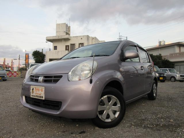 沖縄の中古車 トヨタ パッソ 車両価格 40万円 リ済込 2012(平成24)年 8.9万km パープルM