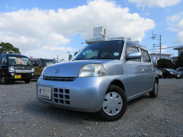 沖縄の中古車 ダイハツ エッセ 車両価格 12万円 リ済込 2008(平成20)年 7.8万km シルバー