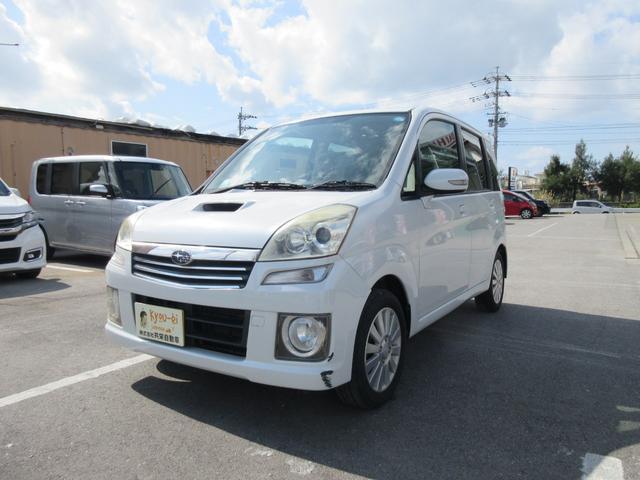 沖縄の中古車 スバル ステラ 車両価格 32万円 リ済込 2009(平成21)年 8.4万km パールホワイト