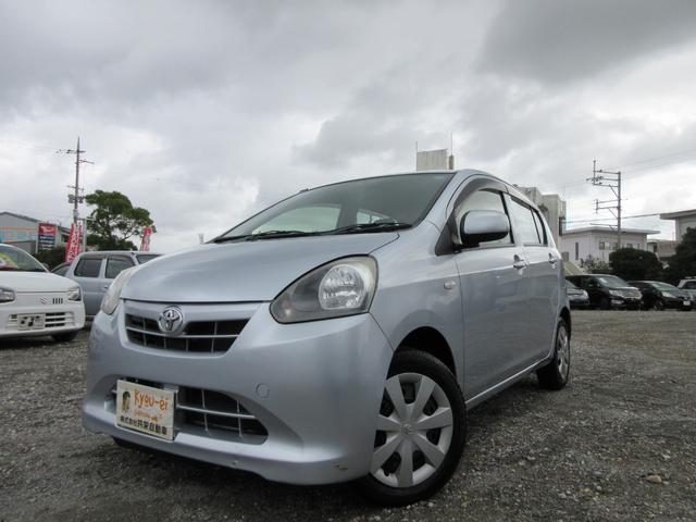 沖縄の中古車 トヨタ ピクシスエポック 車両価格 35万円 リ済込 2012(平成24)年 7.2万km シルバー
