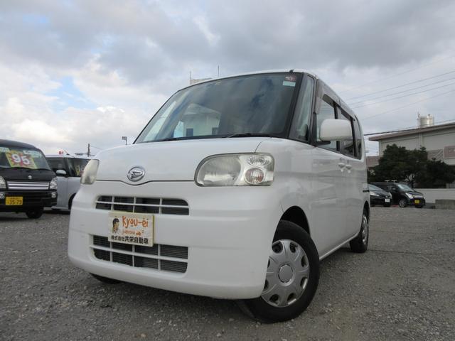 沖縄の中古車 ダイハツ タント 車両価格 33万円 リ済込 2008(平成20)年 7.5万km ホワイト
