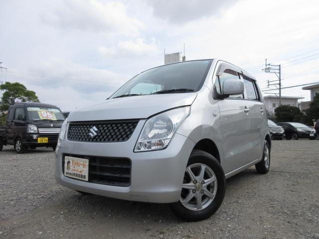 沖縄の中古車 スズキ ワゴンR 車両価格 30万円 リ済込 2011(平成23)年 7.3万km シルバー