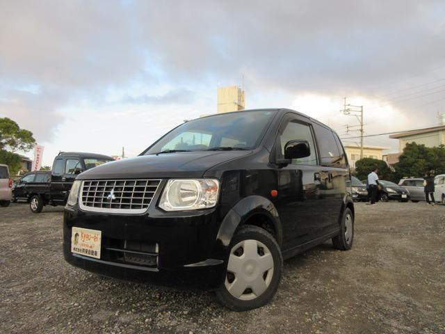 沖縄の中古車 三菱 eKワゴン 車両価格 30万円 リ済込 2011(平成23)年 4.9万km ブラック