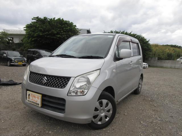 沖縄の中古車 スズキ ワゴンR 車両価格 20万円 リ済込 2010(平成22)年 14.2万km シルバー