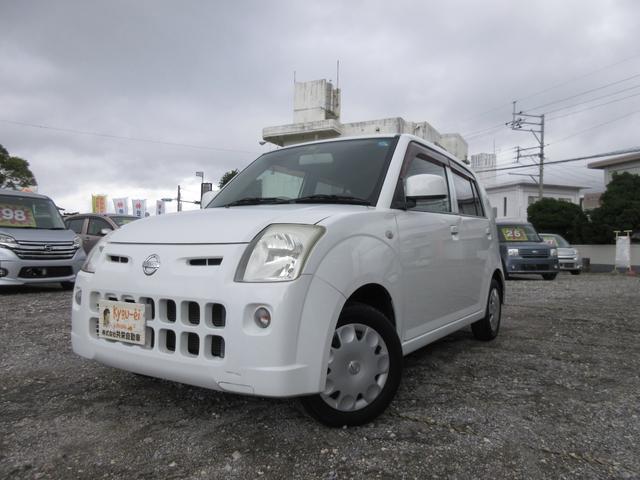 沖縄の中古車 日産 ピノ 車両価格 17万円 リ済込 2009(平成21)年 11.8万km ホワイト