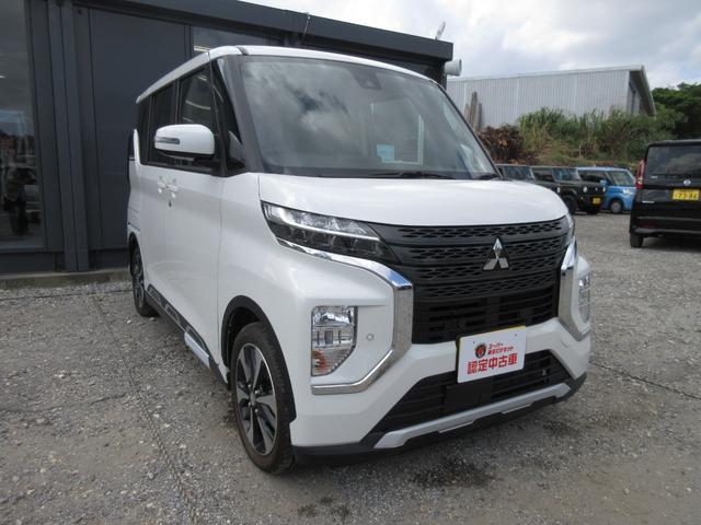 沖縄の中古車 三菱 eKクロススペース 車両価格 170万円 リ済込 2020(令和2)年 21km パールホワイト