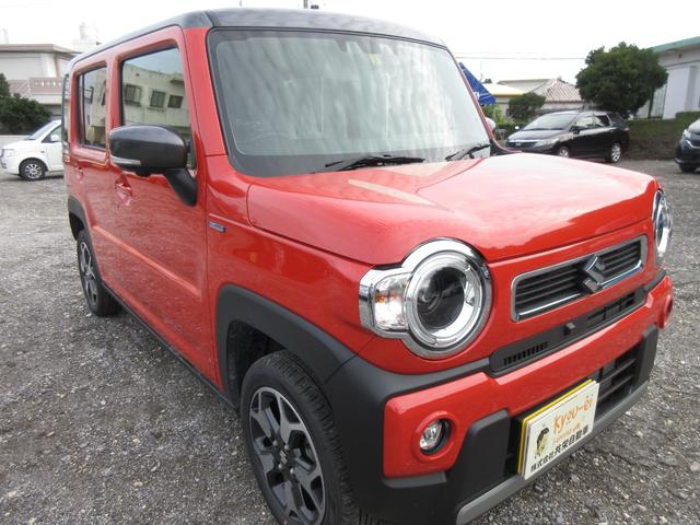 沖縄の中古車 スズキ ハスラー 車両価格 150万円 リ済込 2020(令和2)年 0.4万km バーミリオンオレンジII