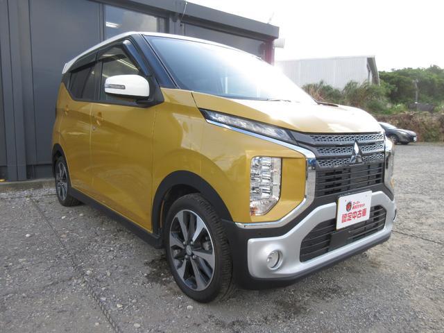 沖縄の中古車 三菱 eKクロス 車両価格 158万円 リ済込 2020(令和2)年 0.3万km サンドイエローメタリックII