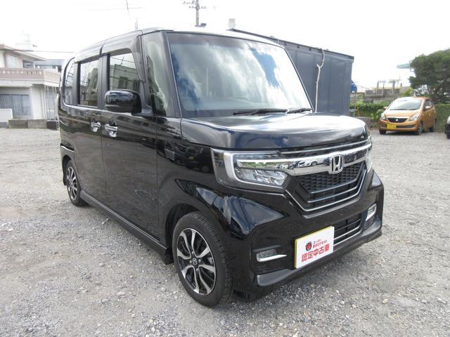 沖縄県南城市の中古車ならN-BOXカスタム G・Lホンダセンシング