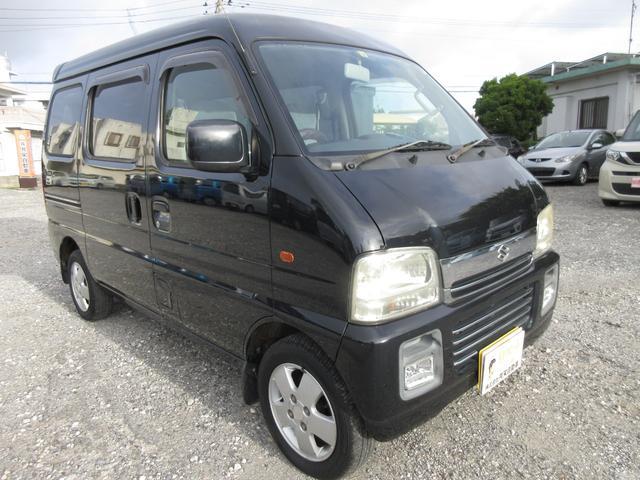 沖縄県糸満市の中古車ならエブリイワゴン ジョイポップターボ