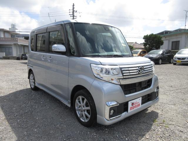 沖縄県の中古車ならタント カスタムX SAII