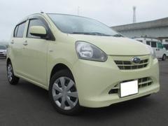 沖縄の中古車 スバル プレオプラス 車両価格 50万円 リ済込 平成25年 1.5万K イエロー