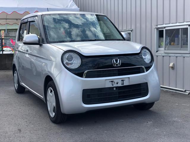 沖縄の中古車 ホンダ N-ONE 車両価格 77万円 リ済込 平成26年 4.9万km シルバーM
