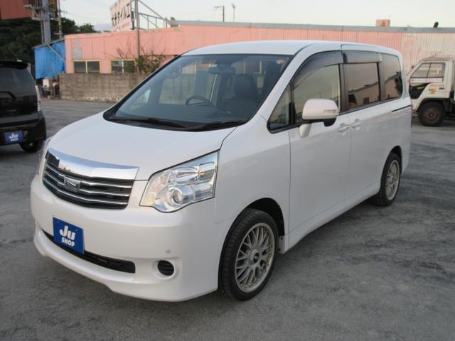 沖縄の中古車 トヨタ ノア 車両価格 78万円 リ済込 2010(平成22)年 5.7万km パール