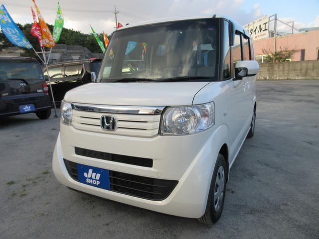 沖縄の中古車 ホンダ N-BOX 車両価格 83万円 リ済込 2013(平成25)年 7.5万km パール