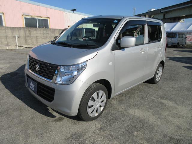 沖縄の中古車 スズキ ワゴンR 車両価格 54万円 リ済込 2014(平成26)年 6.6万km シルバー
