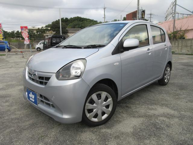 沖縄の中古車 ダイハツ ミライース 車両価格 39万円 リ済込 2013(平成25)年 5.5万km シルバー