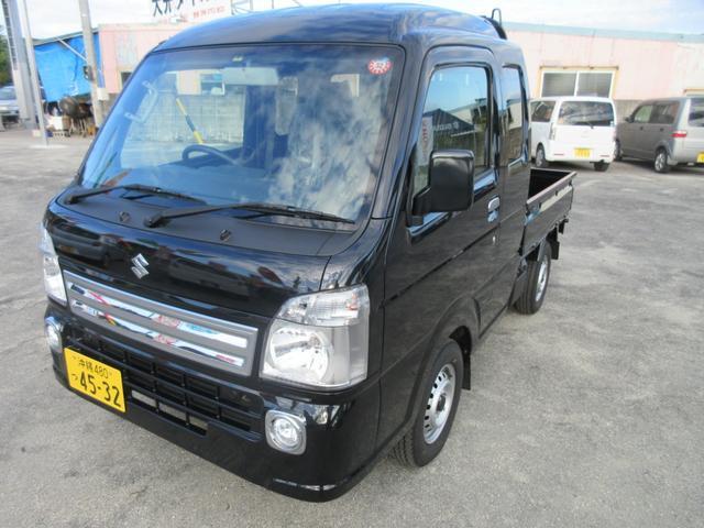 沖縄の中古車 スズキ スーパーキャリイ 車両価格 95万円 リ済込 2019(平成31)年 0.2万km ブラック
