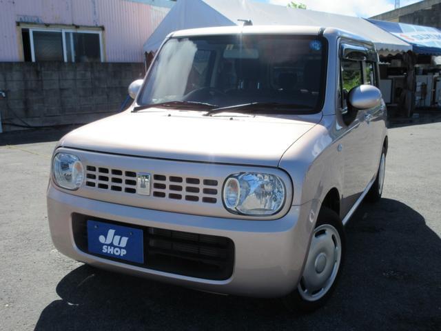 沖縄の中古車 スズキ アルトラパン 車両価格 64万円 リ済込 2015(平成27)年 6.2万km ピンク
