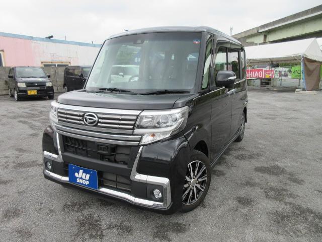 沖縄県の中古車ならタント カスタムX トップエディションSAIII ディスプレイオーディオ・Bluetooth・リアカメラ付き