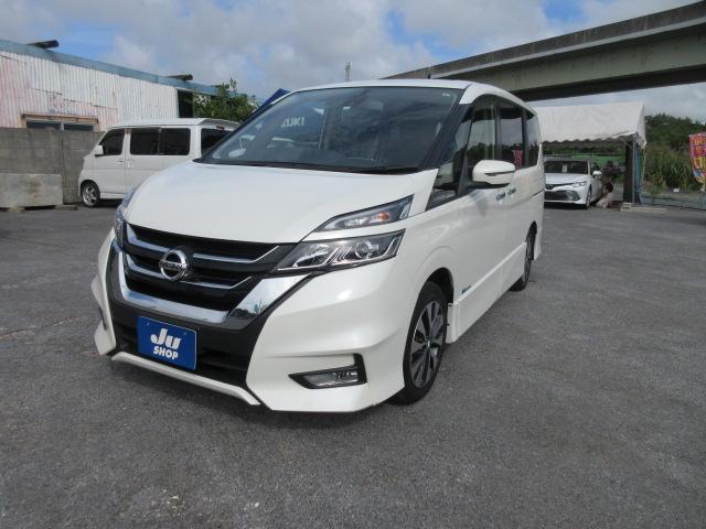 沖縄の中古車 日産 セレナ 車両価格 213万円 リ済込 2018(平成30)年 4.5万km パール