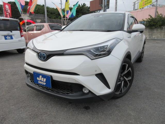 沖縄の中古車 トヨタ C-HR 車両価格 184万円 リ済込 2017(平成29)年 7.6万km パール