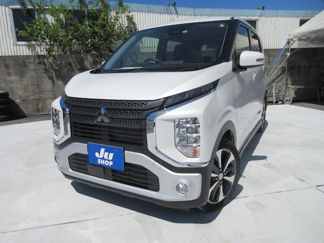 沖縄の中古車 三菱 eKクロス 車両価格 133万円 リ済込 2019(令和1)年 2.8万km パールホワイト