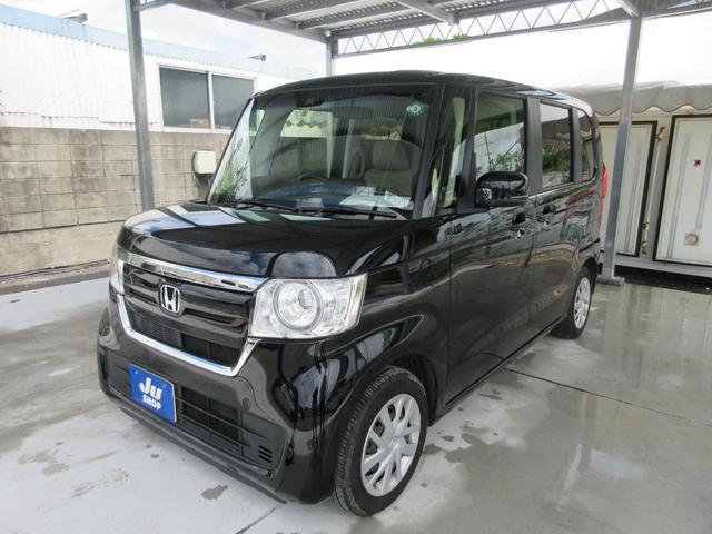 沖縄の中古車 ホンダ N-BOX 車両価格 154万円 リ済込 2020(令和2)年 1.1万km ブラック
