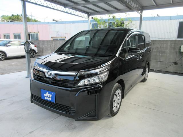 沖縄の中古車 トヨタ ヴォクシー 車両価格 223万円 リ済込 2018(平成30)年 2.4万km ブラック