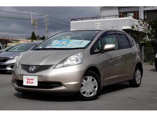 沖縄の中古車 ホンダ フィット 車両価格 52.8万円 リ済別 2010(平成22)年 6.1万km ベージュメタリック