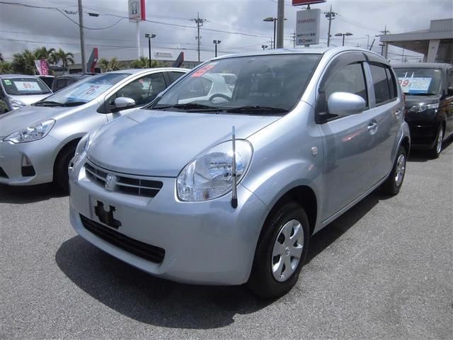 沖縄の中古車 トヨタ パッソ 車両価格 59.4万円 リ済別 平成25年 2.4万km シルバー