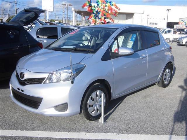 沖縄の中古車 トヨタ ヴィッツ 車両価格 64.8万円 リ済別 平成25年 5.1万km パープル