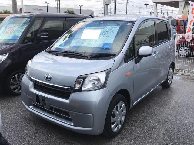沖縄の中古車 ダイハツ ムーヴ 車両価格 75万円 リ済別 平成26年 5.8万km シルバー
