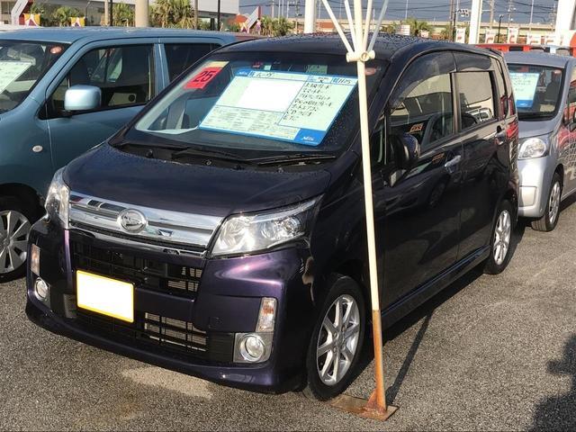 沖縄の中古車 ダイハツ ムーヴ 車両価格 79.8万円 リ済別 2013(平成25)年 5.9万km パープルM