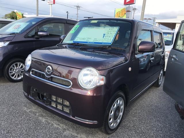沖縄の中古車 ダイハツ ミラココア 車両価格 86.4万円 リ済別 平成24年 5.1万km ブラウン
