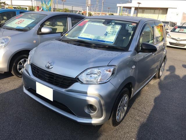 沖縄の中古車 トヨタ パッソ 車両価格 115万円 リ済別 平成28年 0.2万km シルバー