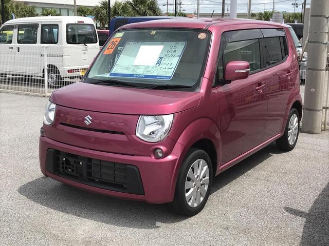 沖縄の中古車 スズキ MRワゴン 車両価格 97.2万円 リ済別 平成26年 4.8万km パープルM