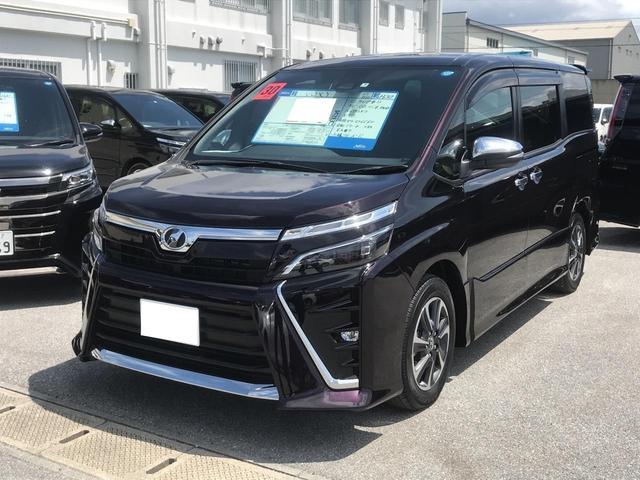 沖縄の中古車 トヨタ ヴォクシー 車両価格 270万円 リ済別 2018(平成30)年 0.7万km ダークパープルM