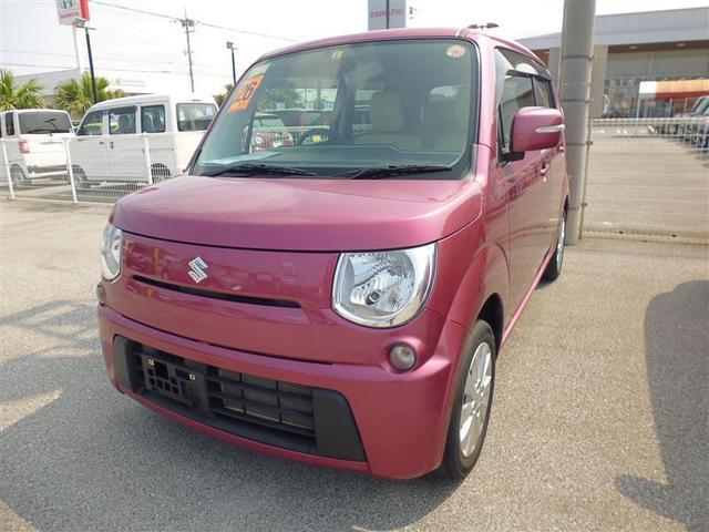 沖縄の中古車 スズキ MRワゴン 車両価格 79.8万円 リ済別 2014(平成26)年 4.8万km ピンク