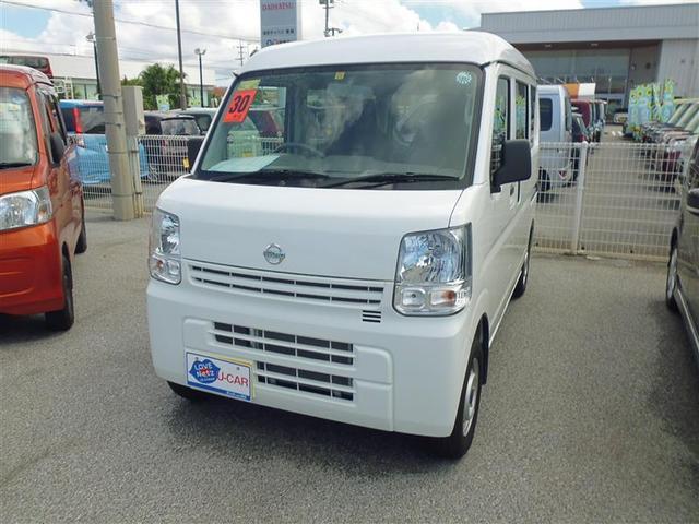 沖縄の中古車 日産 NV100クリッパーバン 車両価格 99万円 リ済別 2018(平成30)年 0.2万km ホワイト
