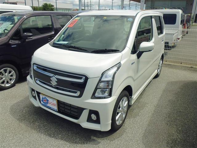 沖縄の中古車 スズキ ワゴンRスティングレー 車両価格 137.5万円 リ済別 2019年 0.2万km パールマイカ