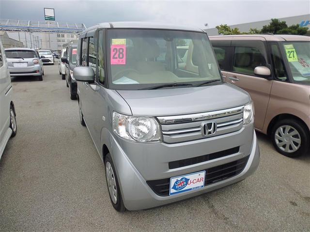沖縄の中古車 ホンダ N-BOX 車両価格 110万円 リ済別 2016(平成28)年 3.0万km シルバー