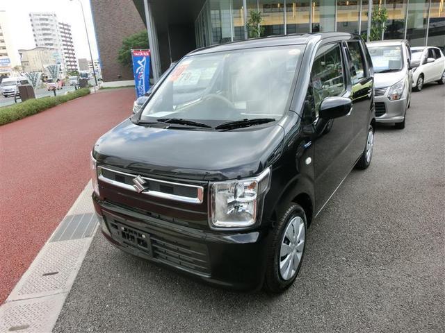 沖縄の中古車 スズキ ワゴンR 車両価格 99万円 リ済別 2018(平成30)年 0.7万km ブラック
