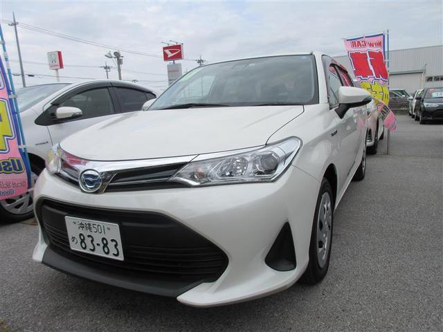 沖縄の中古車 トヨタ カローラフィールダー 車両価格 170.5万円 リ済別 2019年 1.1万km パールマイカ
